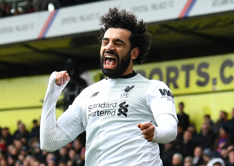 Salah breaks Ronaldo record with match-winner against Crystal Palace