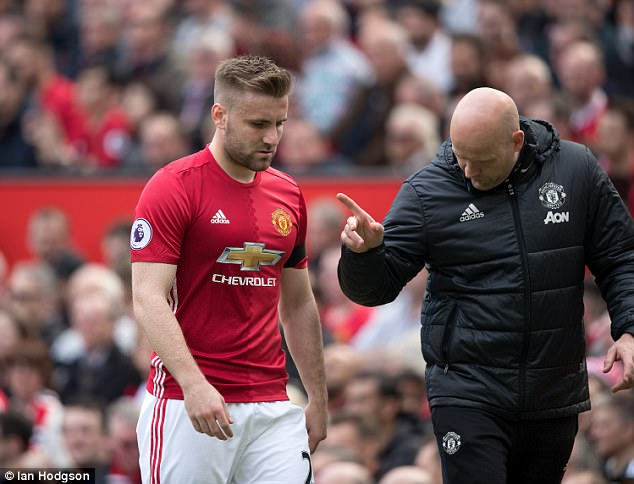 Luke Shaw set to dump Manchester United for Barcelona