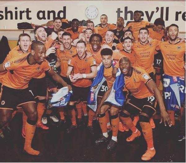 Carl Ikeme Congratulate Wolves Teammates on EPL return
