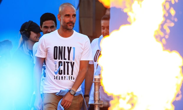 Guardiola commits future to Man City after signing contract extension