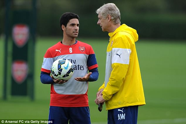 Wenger backs Mikel Arteta to succeed him as Arsenal manager