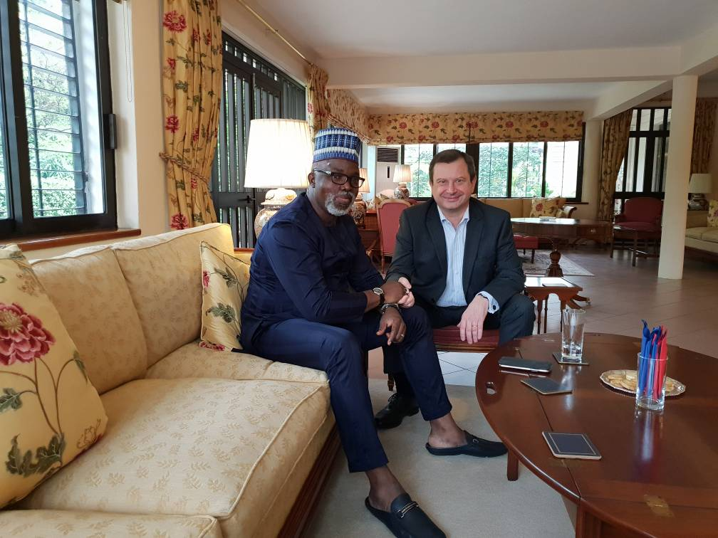 England vs Nigeria: It's more than a game, says British High Commisioner