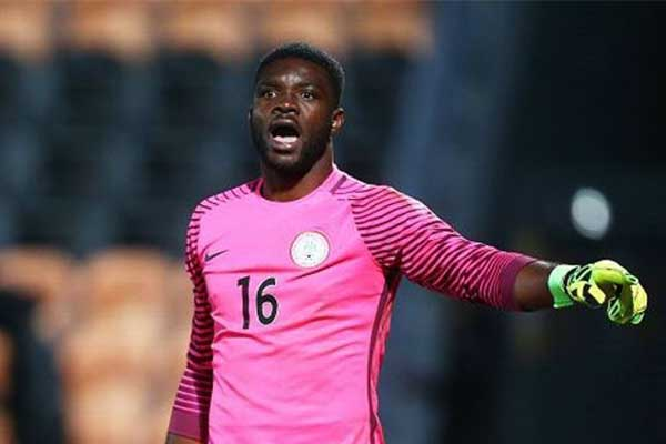 Chippa United Goalkeeper Akpeyi happy to make Super Eagles World Cup squad