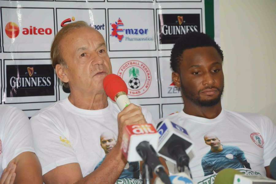 Rohr, Mikel praise NFF on wealth investment seminar