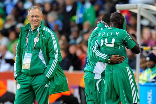 Former Coach Lars Lagerback hoping to see Super Eagles soar in Russia