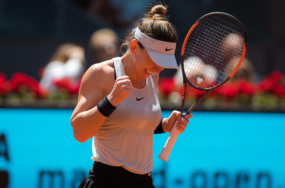 Madrid Open: Simona Halep cruises past Mertens to reach third round