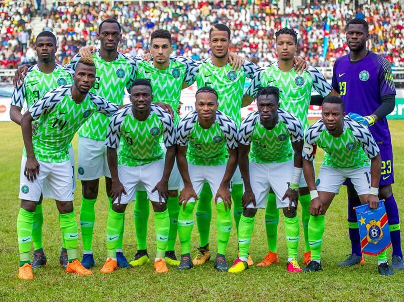 43e10cf0e89 In Just Three Minutes! Nigeria's Home World Cup Kit Sells Out ...