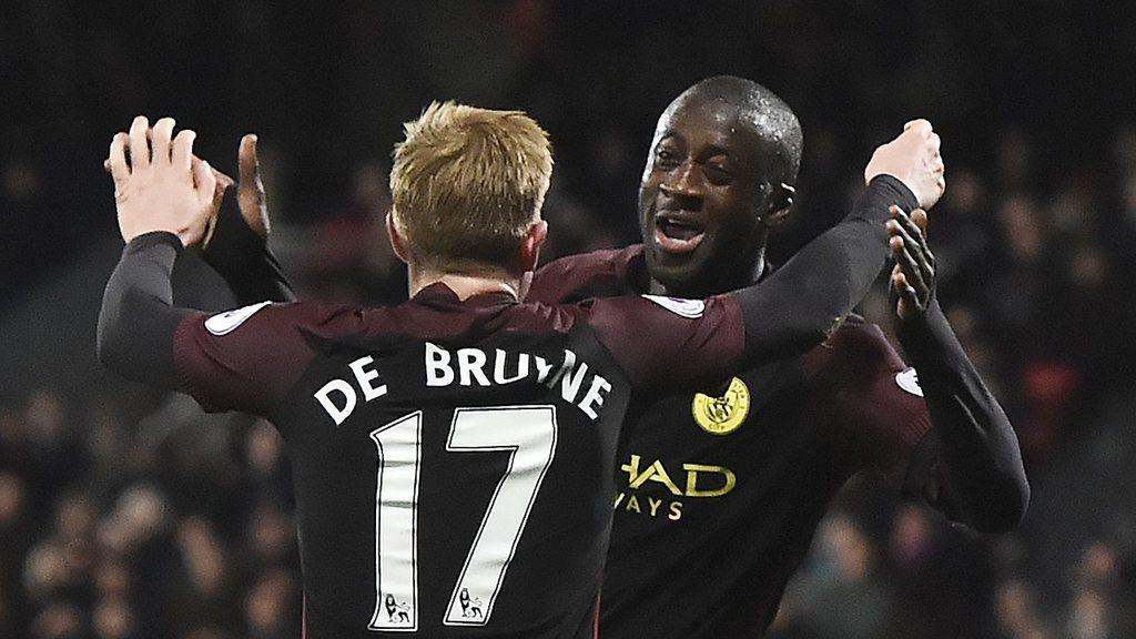 De Bruyne hails Departing City 'Legend' Yaya Toure