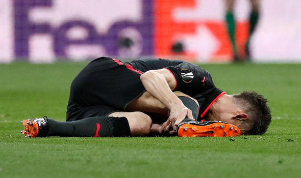 Arsenal Captain Laurent Koscielny has been ruled out of the Season, to miss World Cup