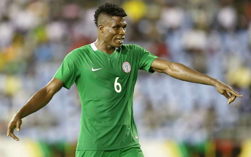 Out-of-favour defender, Stephen Eze lauds Gernot Rohr, wishes Eagles 'the best' in Russia