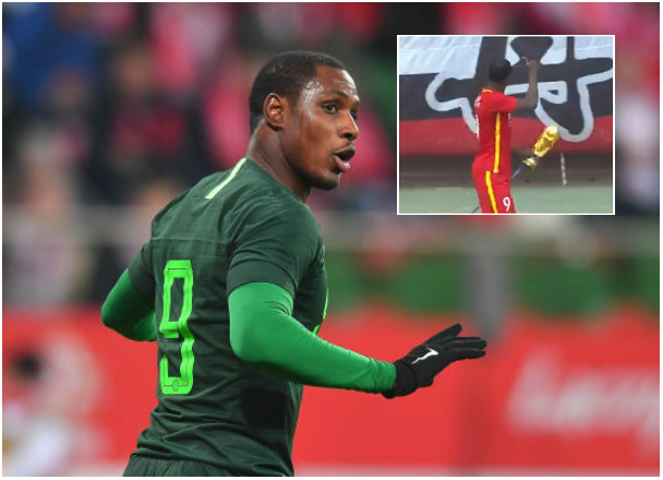 Fans Send Ighalo Off to Russia with World Cup Trophy… Just the Replica