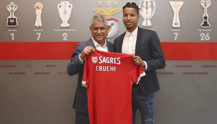 Tyronne Ebuehi completes Benfica move (See Photos)