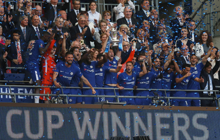 Alas! Victor Moses adds FA Cup to the Trophy Cabinet