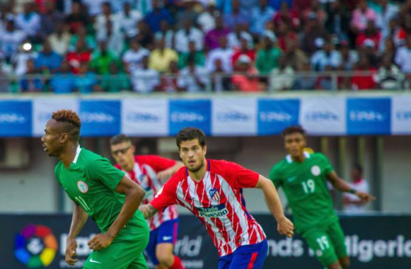 Adepoju identifies future Super Eagles Players from Atletico Madrid Friendly
