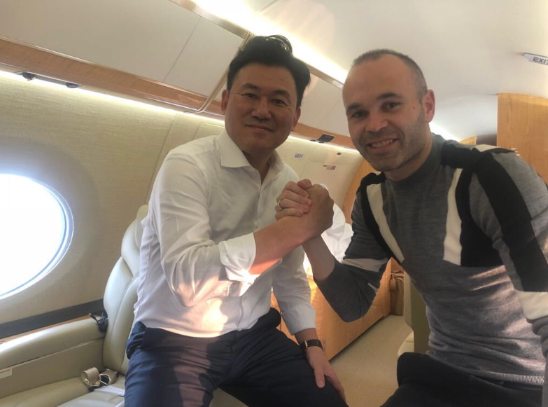 "Andres Iniesta heads to ""New Home"" in J-League as he leaves Barcelona behind"