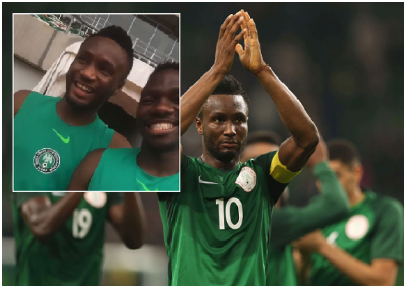 Quick One! A side of Mikel Obi You've Never Seen Before (Watch)