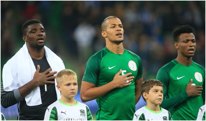 Troost-Ekong Assures Super Eagles will Quit World Cup game if Any Player is Racially Abused