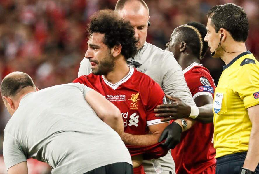Mohamed Salah injured and out of Champions League final