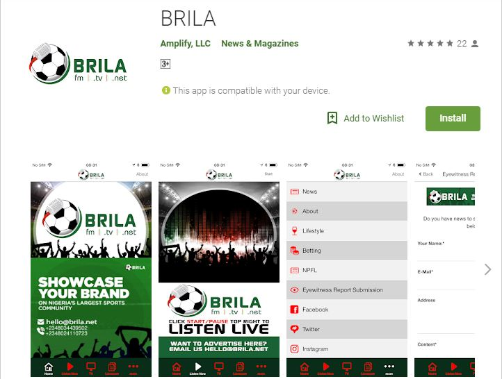 Brila FM Launches 'Brila App' on Google Play Store