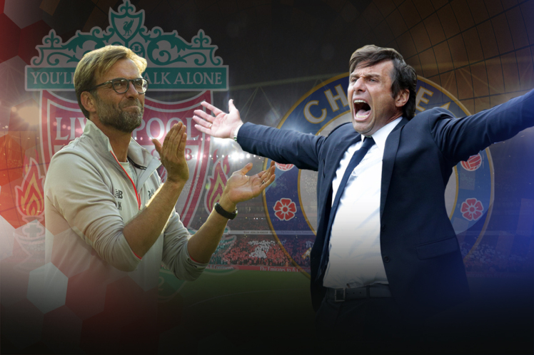 Lucky sides can win Champions League – Conte mocks Liverpool ahead Stamford Bridge clash