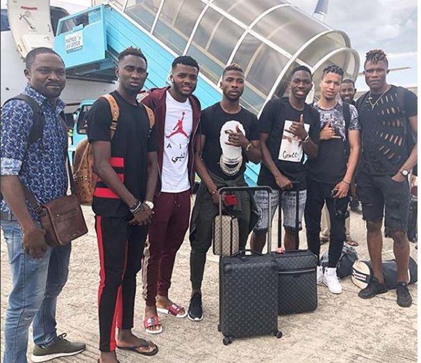 Ndidi, Iheanacho, Omeruo, others hit Super Eagles' Uyo Camp