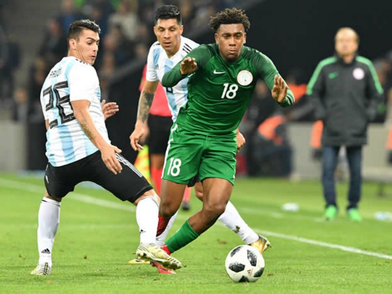 I 'almost cried' after sending Nigeria to Russia 2018 – Iwobi