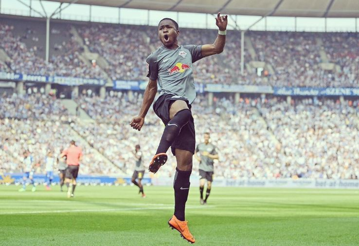 Ademola Lookman bangs another goal in final RB Leipzig game
