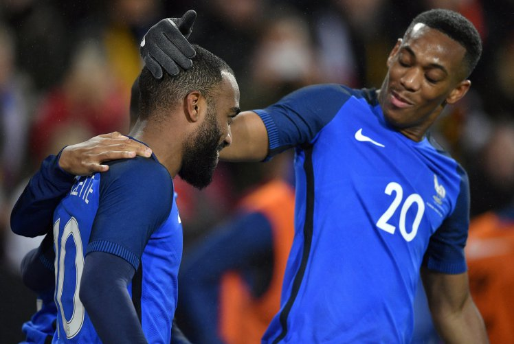 Martial, Lacazette Miss Out On France World Cup Squad