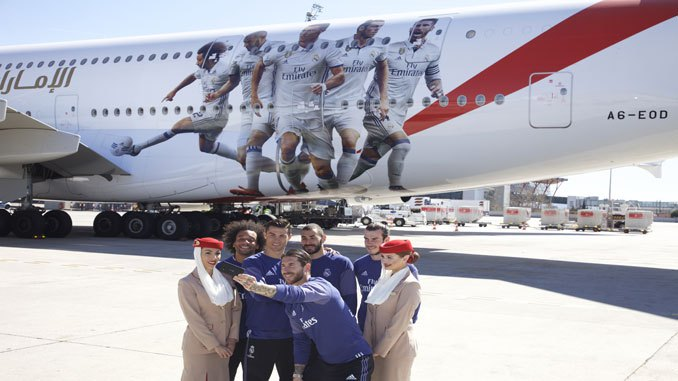 "Eagles to fly Real Madrid's Special ""A-380 Aircraft"" to face three Lions in Wembley [Photos]"