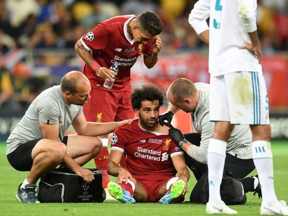 Just In! Injured Mohammed Salah will play in Russia