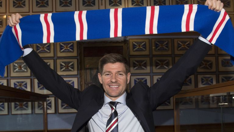 Rangers appoint former Liverpool Captain Gerrard as Manager