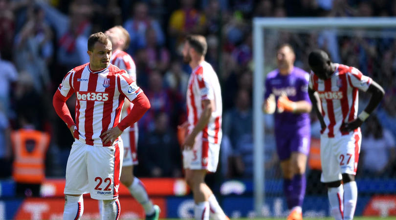 BREAKING! Stoke City Relegated from Premier League after Palace defeat