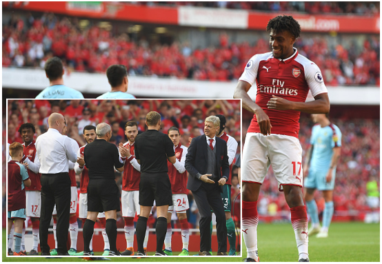 Iwobi Honors Wenger with a Goal, Kanu and the Invincibles Bid Manager Farewell