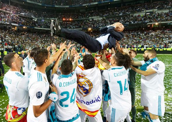 Real reason behind Zidane's shock Madrid exit revealed