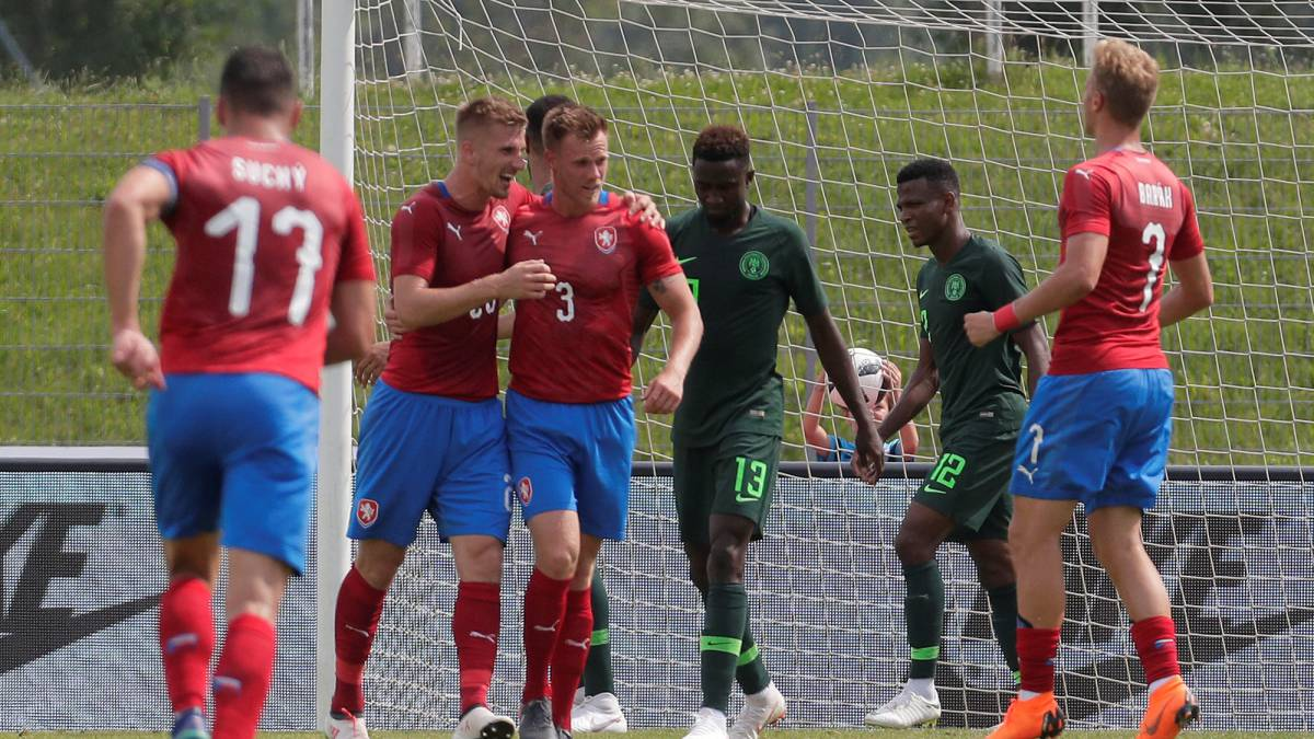 Disappointing Eagles bow to Czech Republic in final Pre-world Cup Friendly