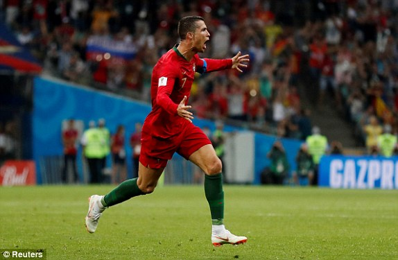 Ronaldo bags hat-trick as Portugal and Spain play out a 6-goal World Cup thriller