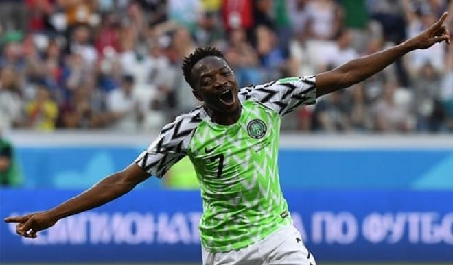 Musa's second strike vs Iceland nominated for Goal of the tournament