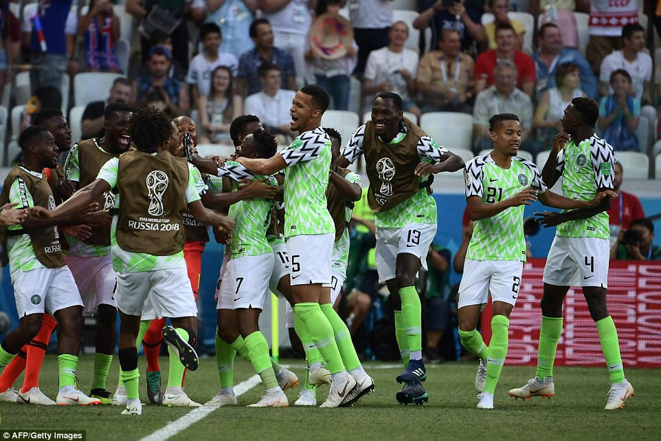 AS Roma hails Super Eagles after Iceland Triumph
