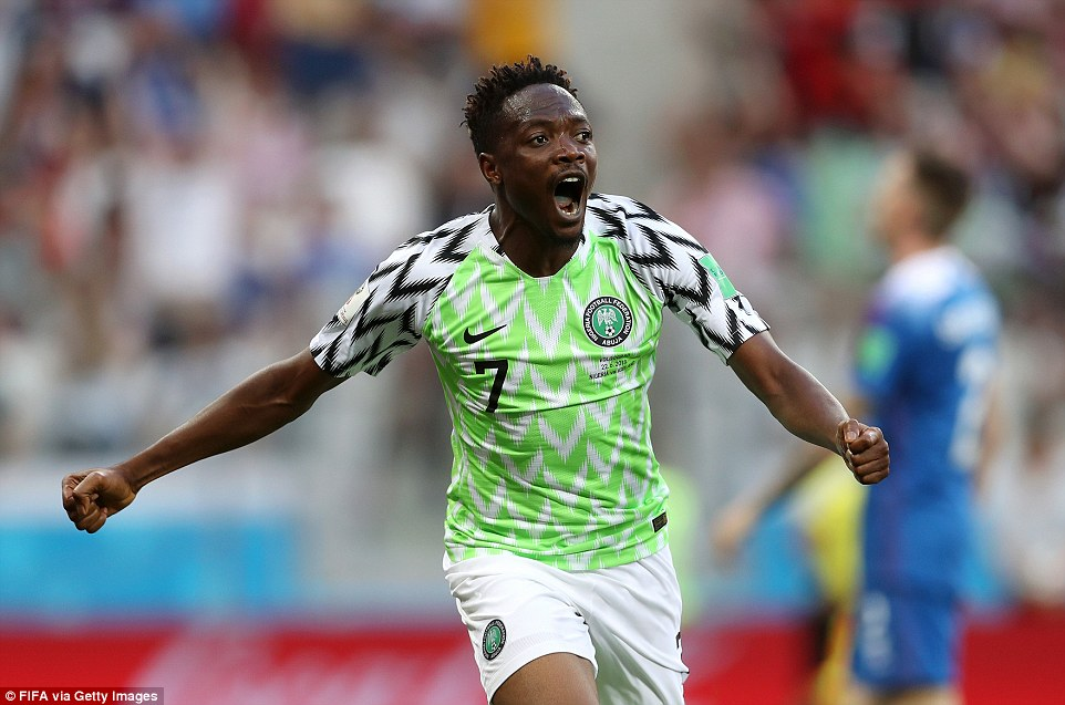 Did Ahmed Musa score the Best World Cup Goal with his first effort vs Iceland?