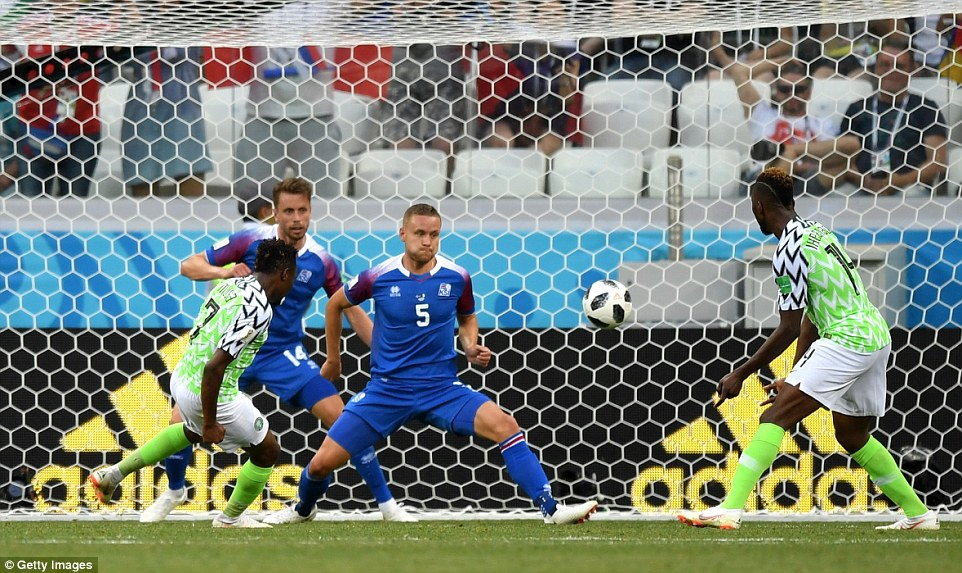Eagles Beat Iceland With 'Excellent' Ahmed Musa Brace