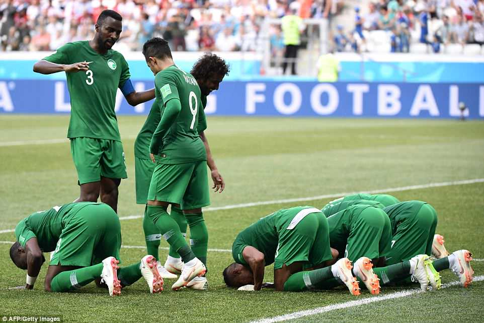 Saudi Arabia beat Egypt 2-1 in Volgograd as both Nations eliminated