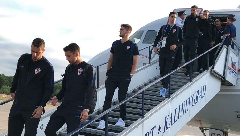 Croatia squad arrives in Kaliningrad ahead of Nigeria clash