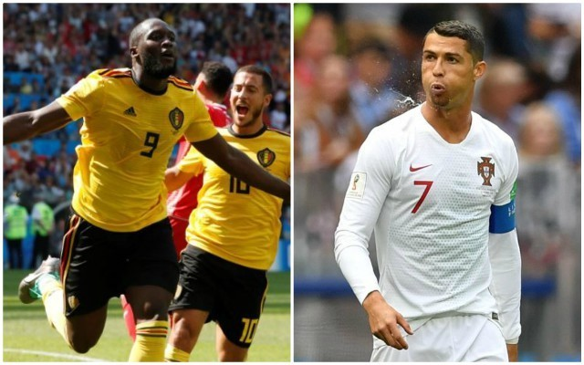Lukaku ties Ronaldo in early battle to win the World Cup Golden Boot