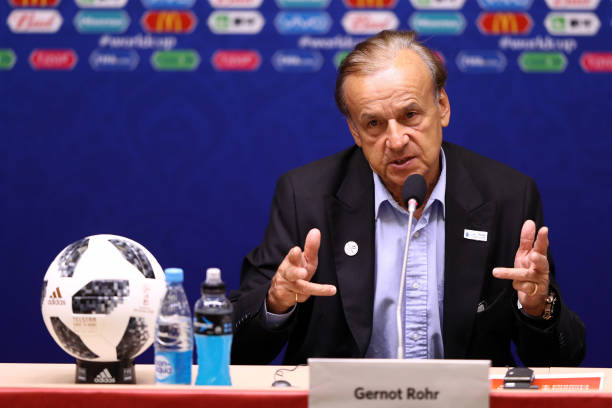 Gernot Rohr defends Eagles performance in Croatia loss