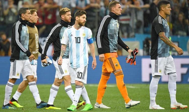 LEAKED! Argentina line up vs Nigeria – Aguero, Caballero dropped