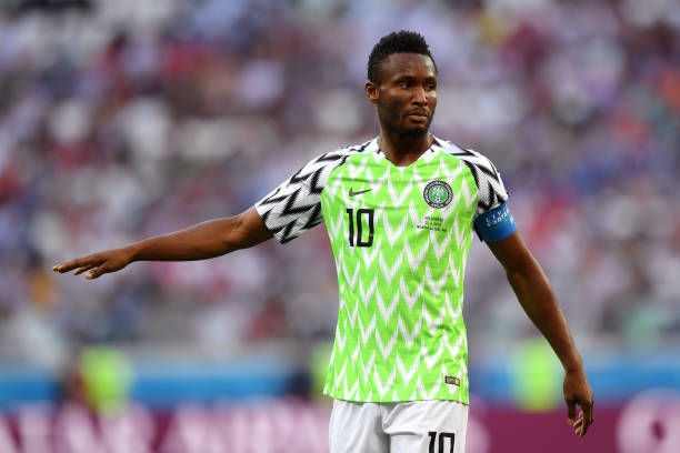Eagles Skipper Mikel to play against Argentina despite hand fracture