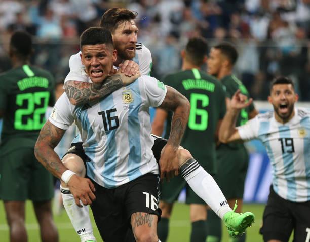 Rojo strikes stunning winner against Nigeria to send Argentina into last 16