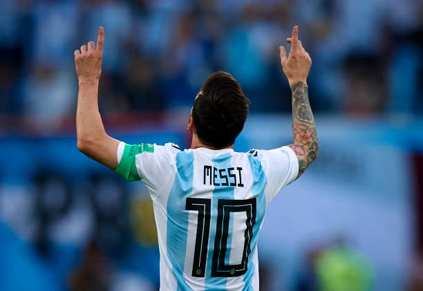 Messi admits Argentina suffered a lot against Nigeria