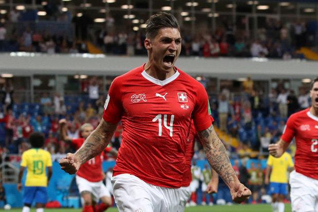 Switzerland hold Brazil to 1-1 draw despite Coutinho masterclass