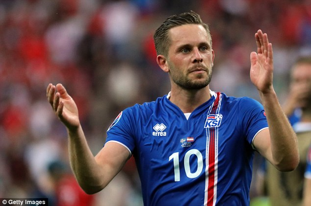 Iceland stars Sigurdsson, Guðmundsson could miss Eagles clash